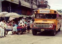Autobus in Honduras