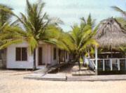 Strandlodge in Honduras